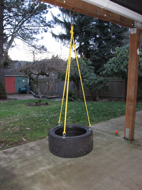 Tire swing project submited images